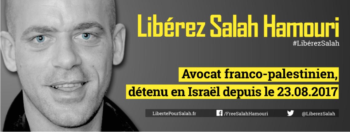 Liberté pour Salah Hamouri! Manifestons à Lorient