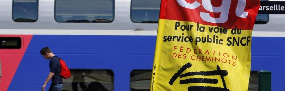 Un grand service public du rail, un document de la CGT