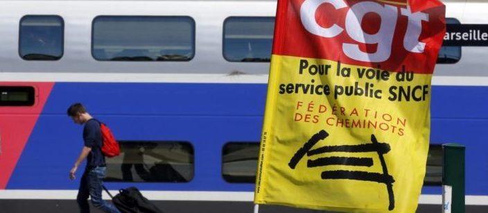Un grand service public du rail, un document de la CGT