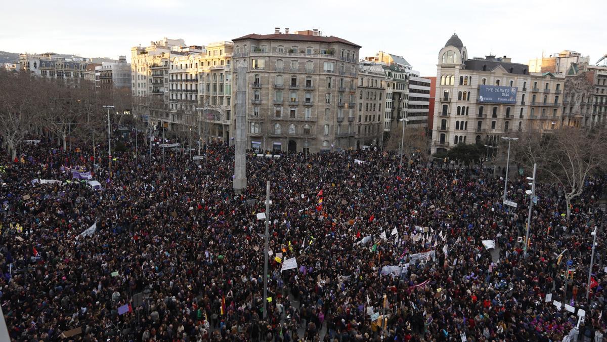 Espagne : un 8 mars historique