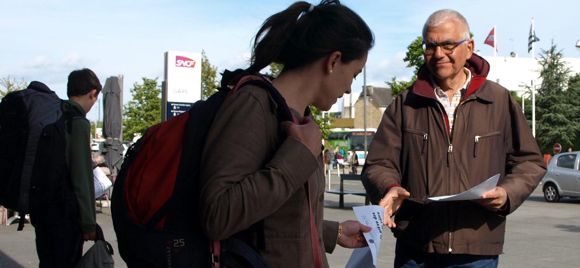 Gare de Vannes : Causes communes 56 dialogue avec les usagers
