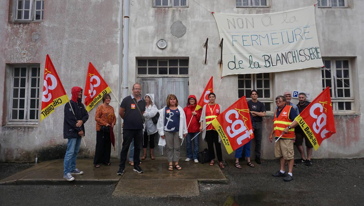 Solidarité avec les salariés de l'hôpital de Belle-Île