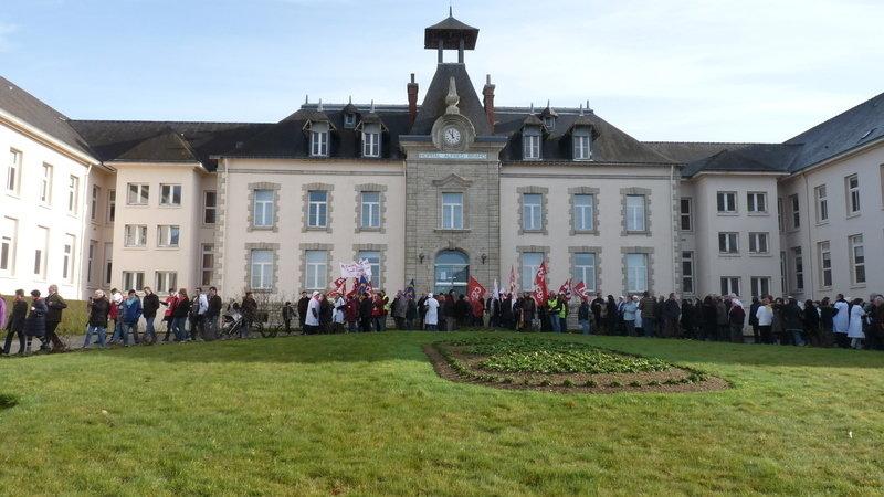 Guémené-sur-Scorff : soutien à leur lutte