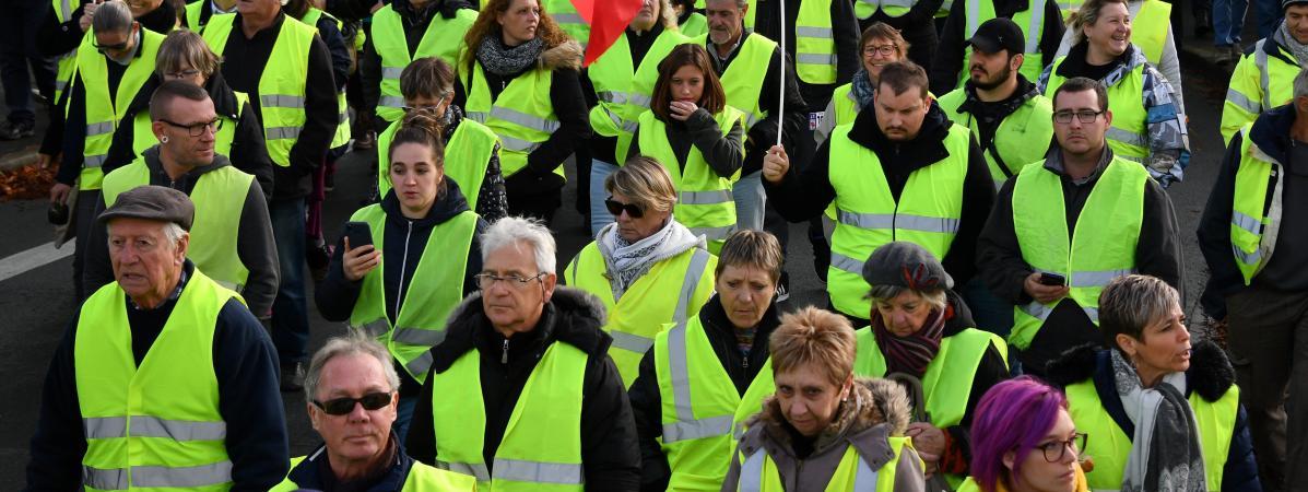 Gilets jaunes : l'étude qui devrait inquiéter Macron