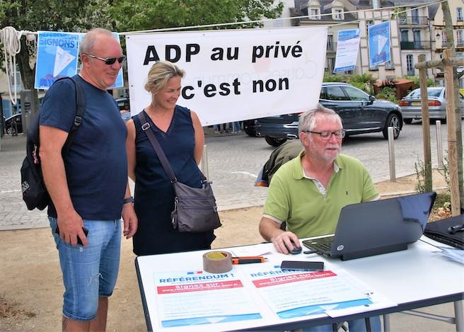 Signons pour ADP