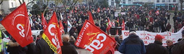 5 décembre : mobilisation sans précédent dans le Morbihan