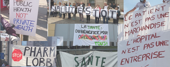 Ehpad de l'hôpital de Port-Louis Riantec : le collectif  ne lâche rien