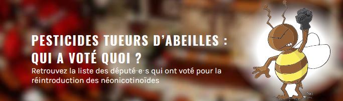 Qui sont les députés du Morbihan favorables à la réintroduction des néonicotinoïdes ?