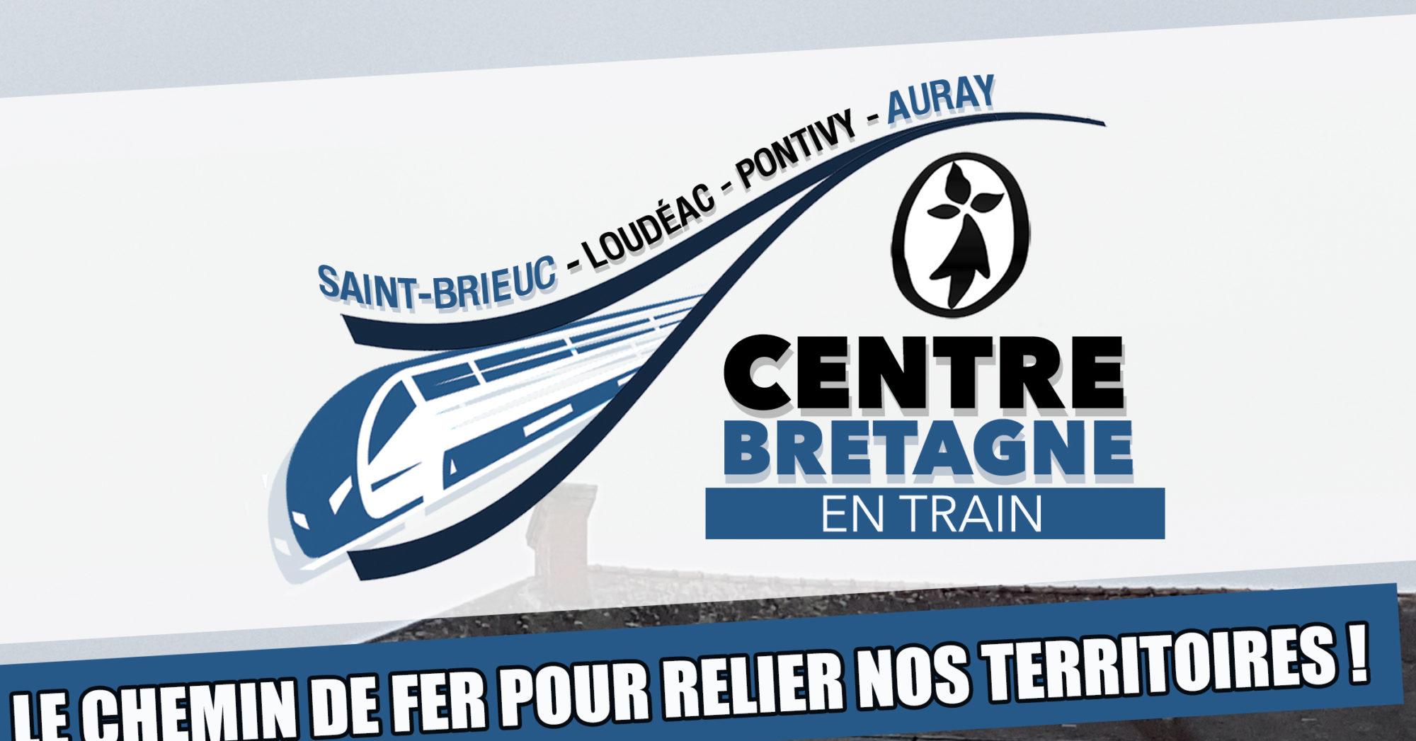 Pour la réouverture de la ligne SNCF Saint-Brieuc-Auray