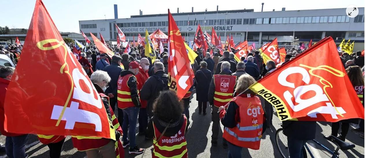 Pays de Lorient. Fonderie de Bretagne : la CGT épingle François Goulard