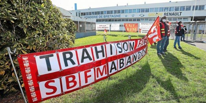 Pour les syndicats, François Goulard « vote contre l'industrie morbihannaise »