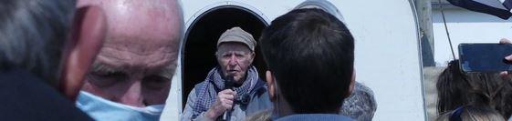 5G : vague de soutien au navigateur Eugène Riguidel en grève de la faim à 80 ans