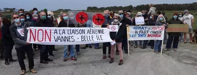 Vannes-Belle-Île : une liaison aérienne inutile et insoutenable